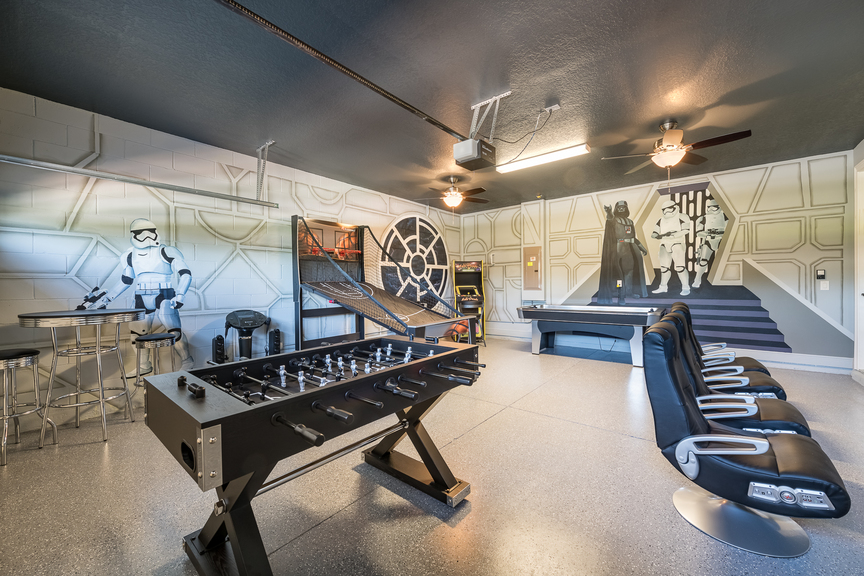 star wars themed room