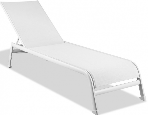 STERLING PLUS - PATIO - WTL-SUNSET CHAISE LOUNGE - WHITE