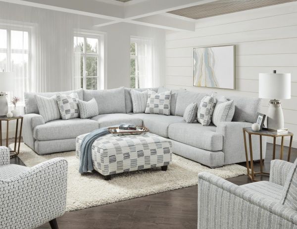 STERLING PLUS  - LIVING ROOMS - FUSH - 51-15 - ENTICE CONTEMPORY SECTIONAL.