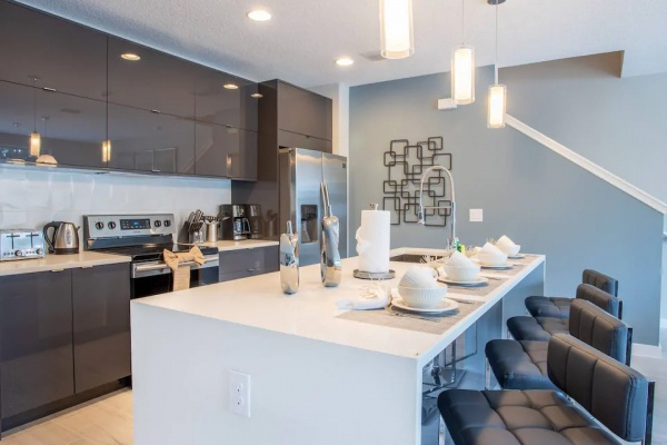 Le Reve 4 Bedroom Town Home - Kitchen