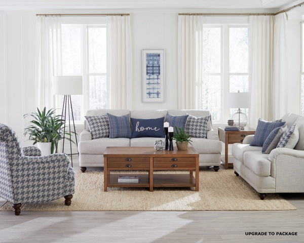 STERLING PLUS - LIVING ROOMS - COA-511091 - SOFA , LOVE SEAT, CHAIR (UPGRADE).