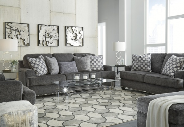 Sterling Plus - Living Rooms - Ashley - 95904 - Sleeper, Sofa, Love Seat and Chair.  Transitional.