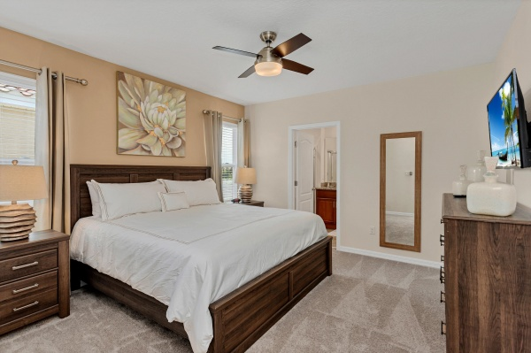 St. Lucia - Master Bedroom