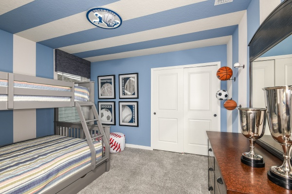 Clearwater Grand Model  - Twin / Full Sports Room