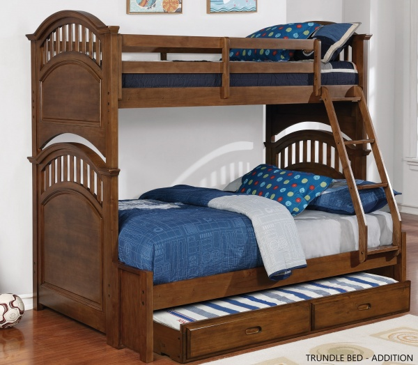 EXECUTIVE SECONDARY SUITES - BUNKBEDS - COA-461080 TWIN/FULL BUNK BED