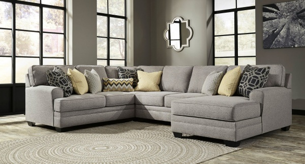 Sterling Plus  - Living Room - Ashley 54907 3 Pc. Transitional Sectional
