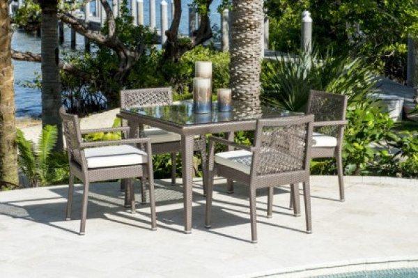EXECUTIVE - PATIO - PLR-PJO-1801  TABLE AND 4 CHAIRS.