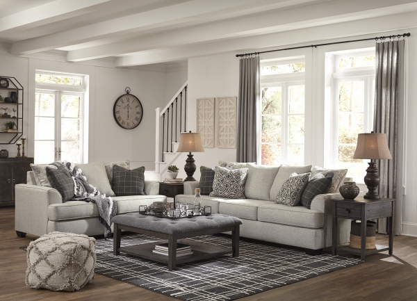 Sterling Plus - Living Rooms - Ashley - 79604 - Sofa - Love Seat - Neutral.