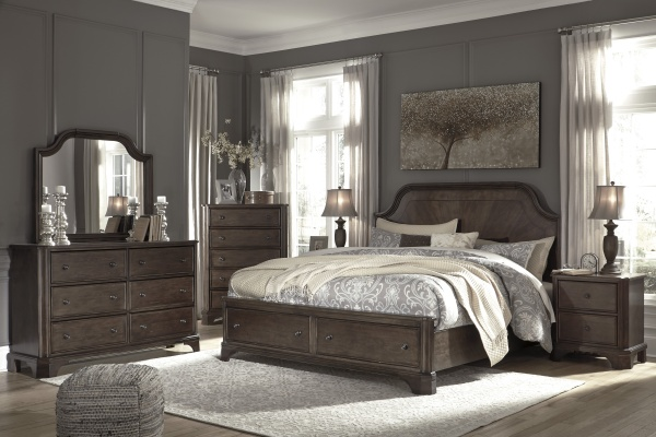 EXECUTIVE - SECONDARY SUITES - ASH-B517 TRADITIONAL ALTERNATIVE BEDROOMS