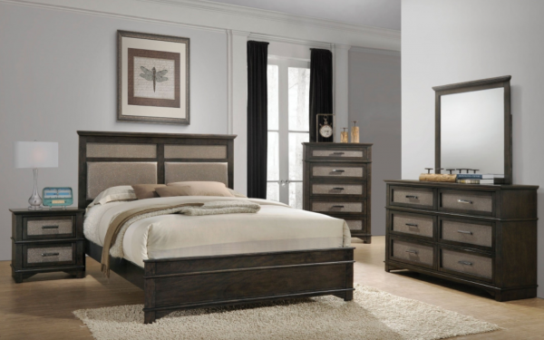 Sterling Plus - Master Bedrooms -  Acme - Anatole - 2 Tone Transitional.